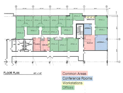 Commercial Office Building Plans Over 5000 House Plans